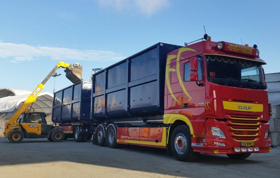 nieuwe daf truck hoftrans